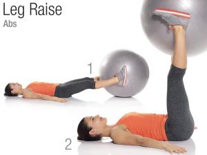 Stability Ball leg surélever