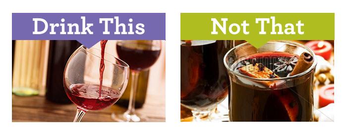 Boire du vin rouge vs vin chaud