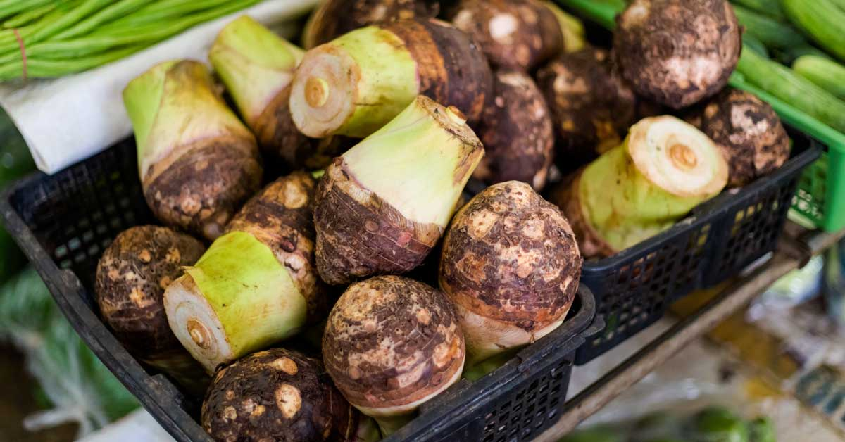 7 avantages surprenants de la racine de taro