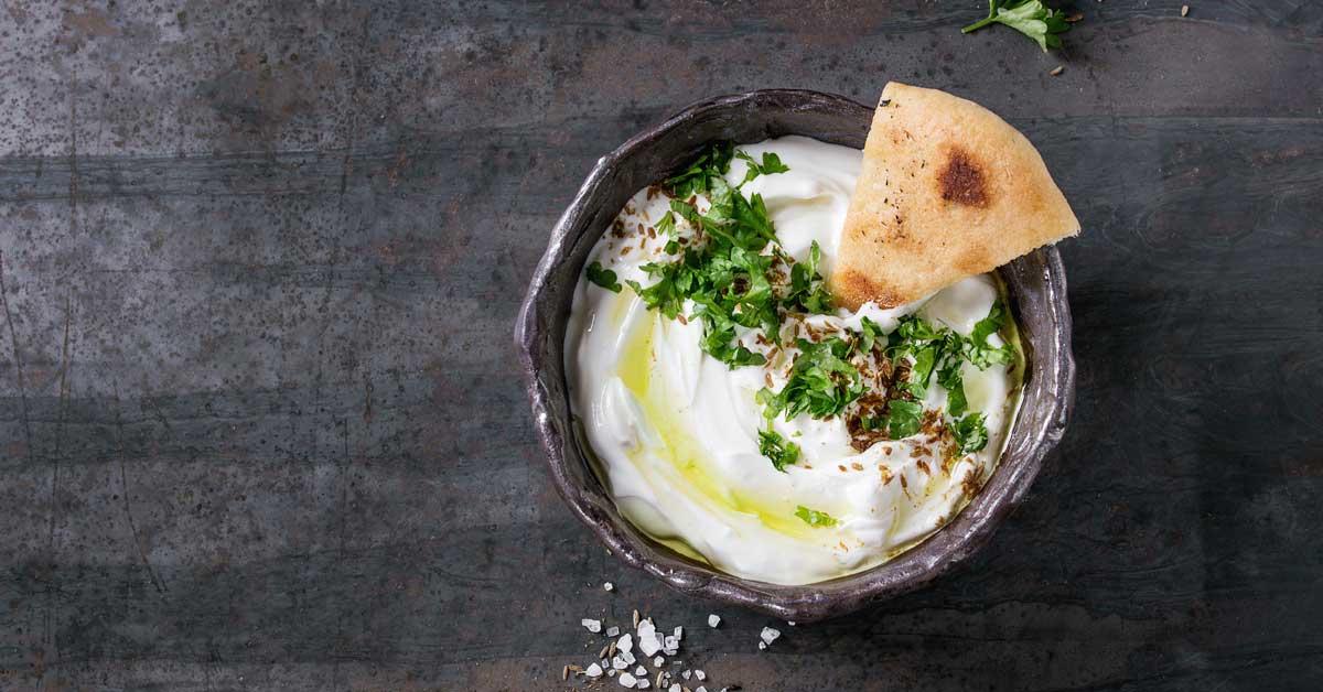 Qu'est-ce que le fromage Labneh? - Et comment le faire