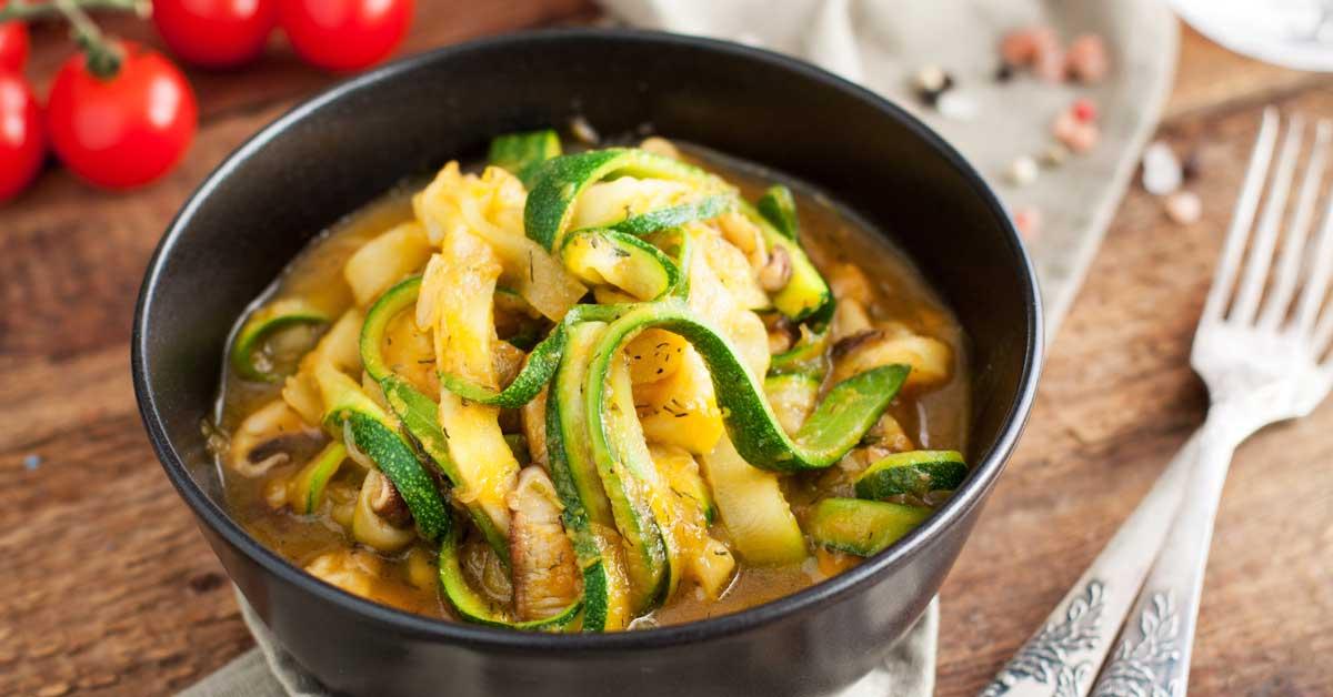 Top 11 des alternatives à faible teneur en glucides pour les pâtes et les nouilles