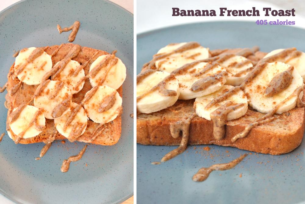 banane pain grillé français