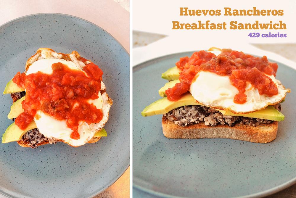 Huevos huevos-déjeuner Sandwich