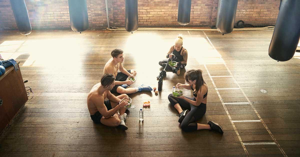 Devriez-vous manger avant ou après l'entraînement?