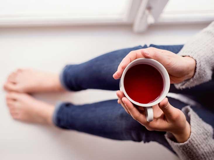 4 stimulants dans le thé - plus que de la caféine