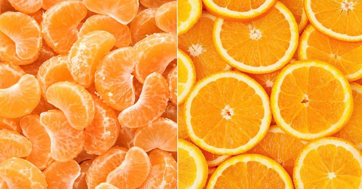 Les mandarines et les oranges: en quoi sont-elles différentes?