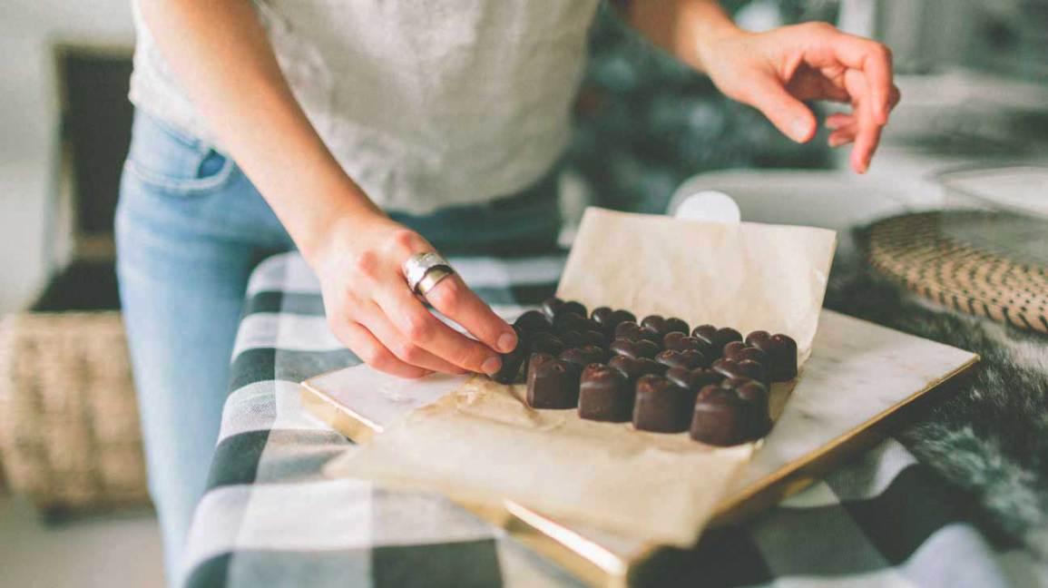Avantages pour la santé de chocolat noir
