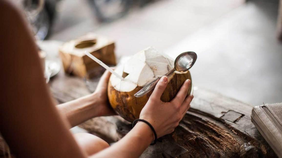 Avantages de l'eau de coco