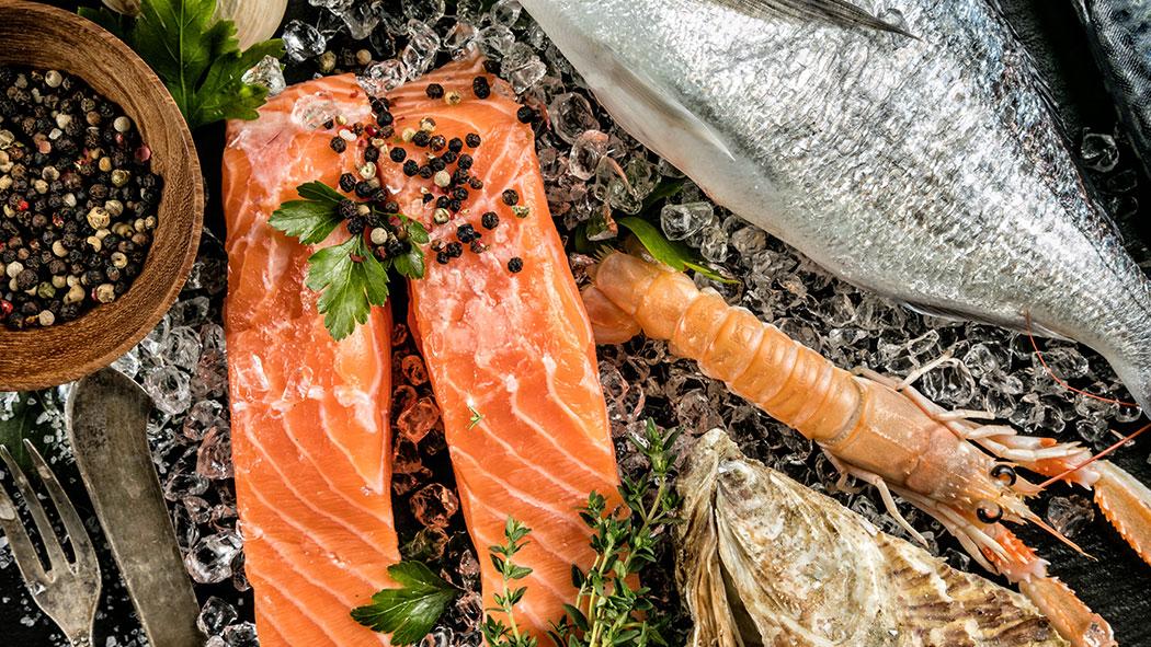 Quel type de fruits de mer est le plus nutritif