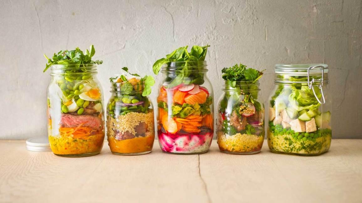 Préparation de repas santé