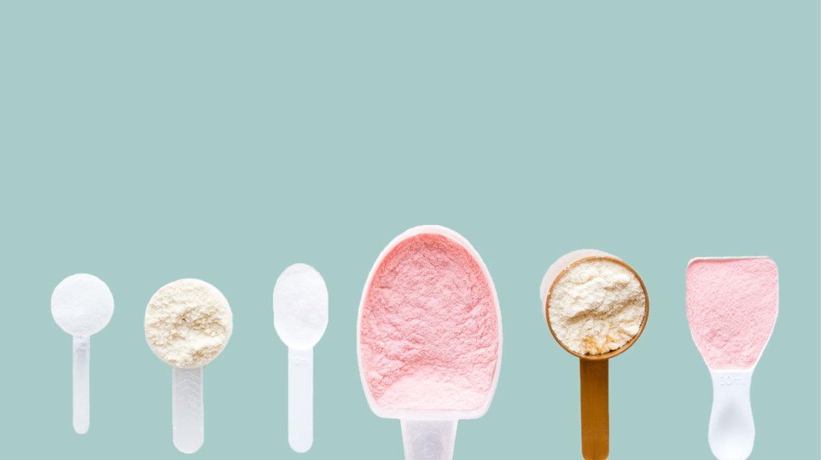 Poudres de protéines faibles en glucides