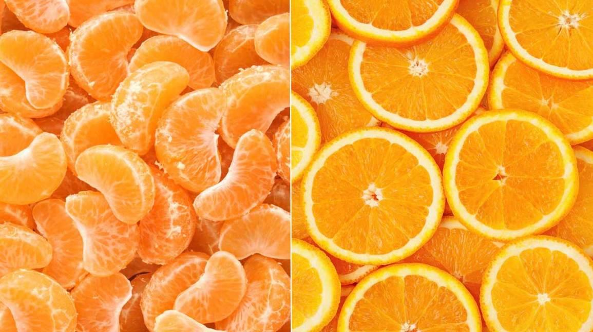 Différence entre les mandarines et les oranges
