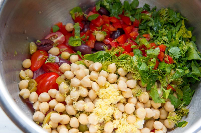 Grecs mélanges à salade