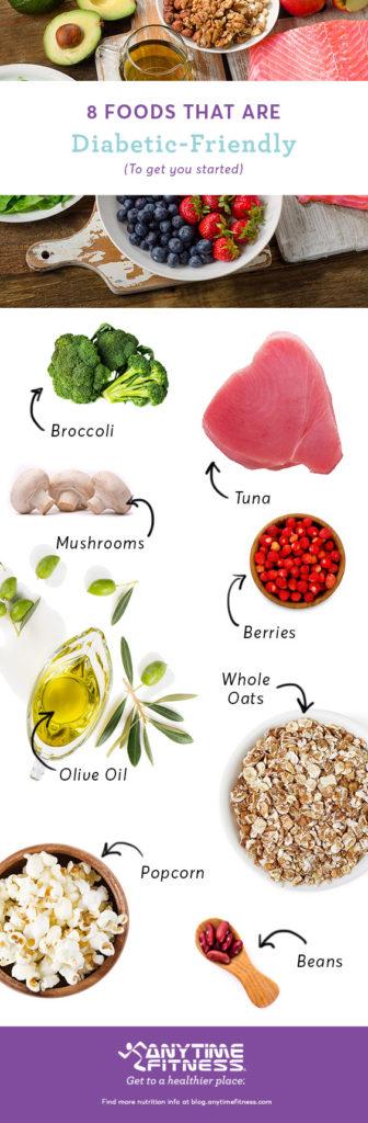 Aliments adaptés aux diabétiques