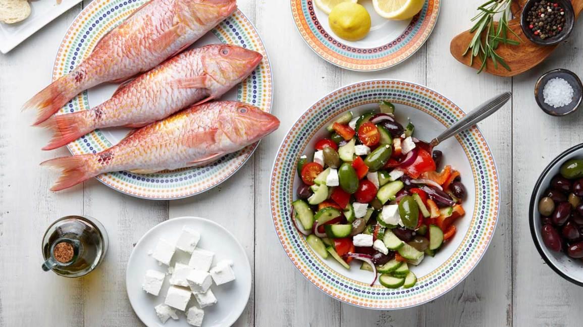 Plan de repas pour régime méditerranéen
