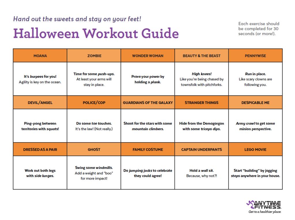 Guide d'entraînement Halloween