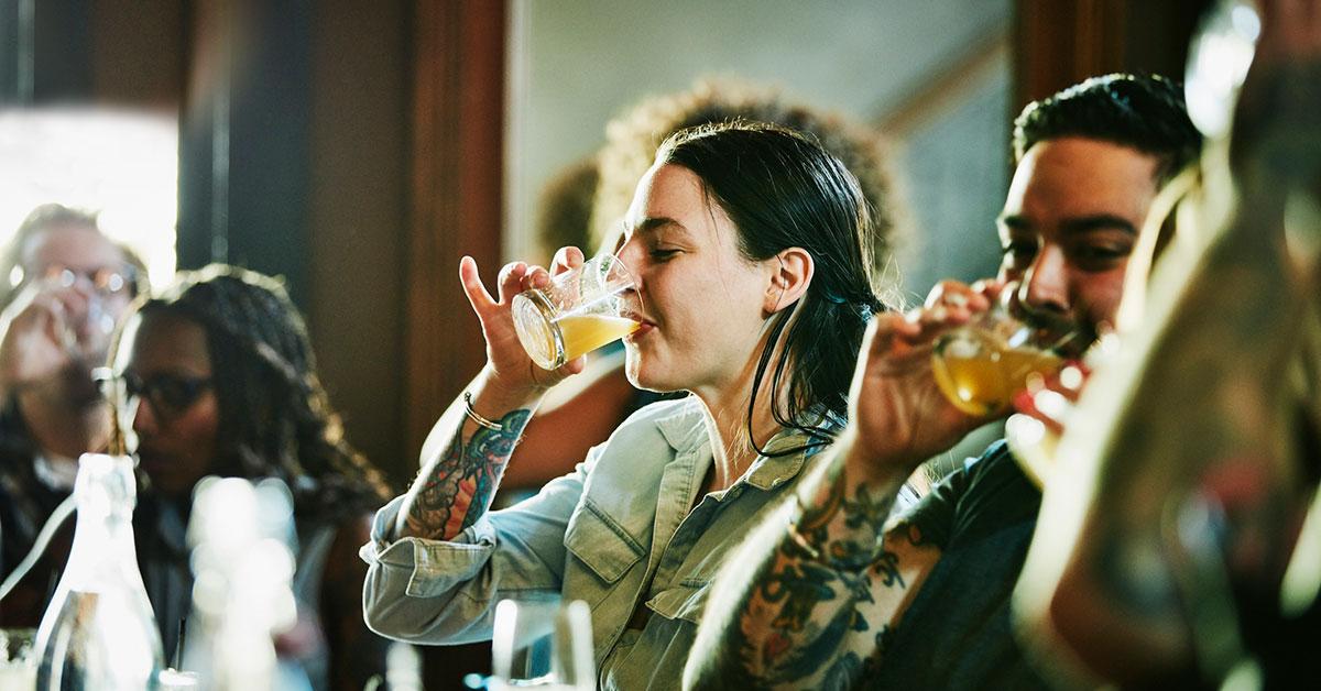 <pre>«Allergique» à l'alcool? Il peut y avoir un moyen de traiter vos symptômes