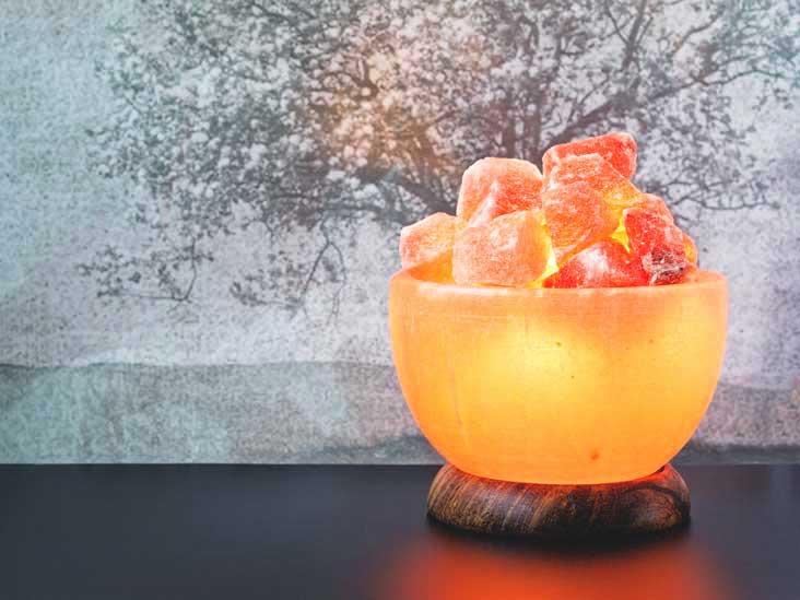 Les lampes à sel de l'Himalaya: bienfaits et mythes