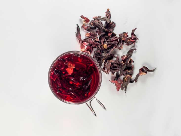 8 avantages du thé d'hibiscus