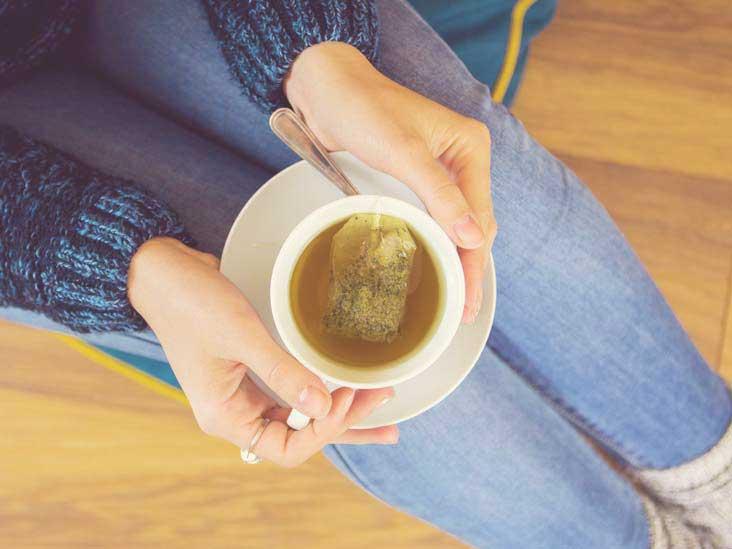 Quelle quantité de caféine contient le thé vert?