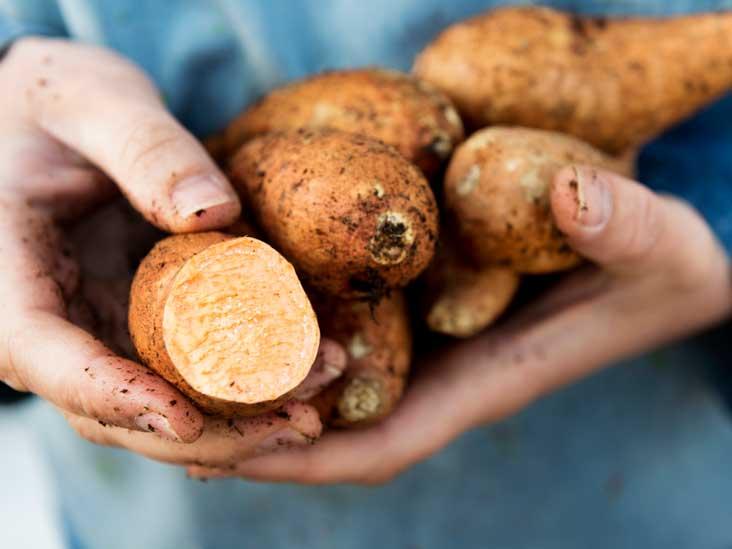 Patates douces et ignames: quelle est la différence?
