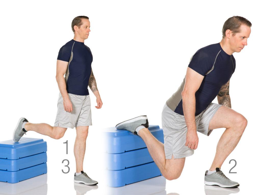Foot Up Split Squat
