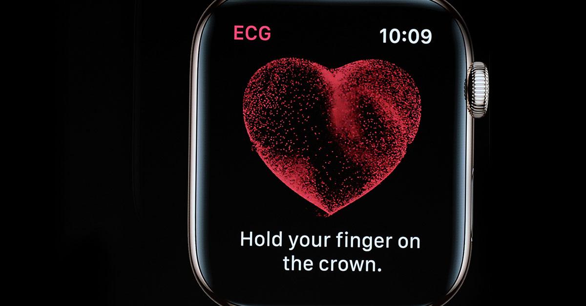 La nouvelle Apple Watch pourrait faire partie de l'avenir des dispositifs cardiaques portables