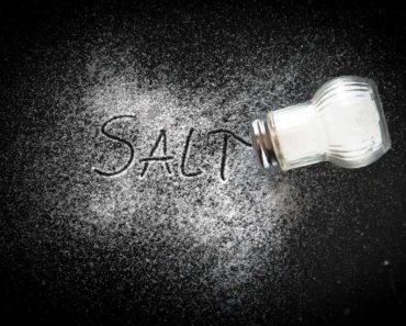 Le sel est-il réellement mauvais pour vous?