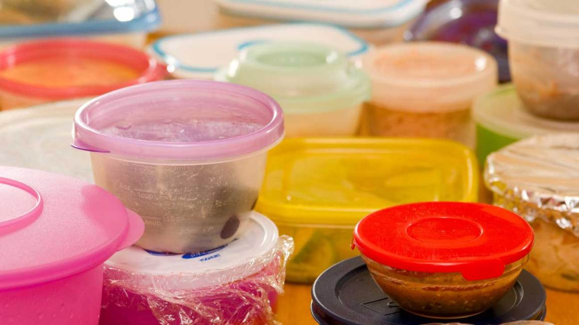 Contenants alimentaires en plastique