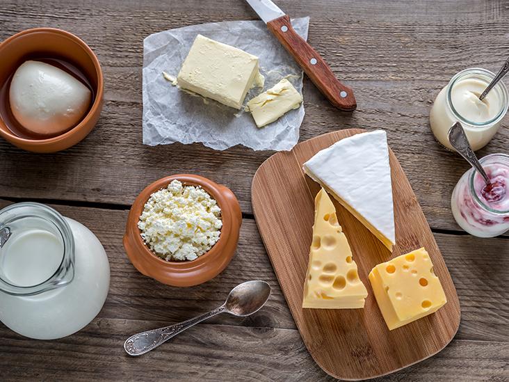 6 aliments laitiers naturellement faibles en lactose