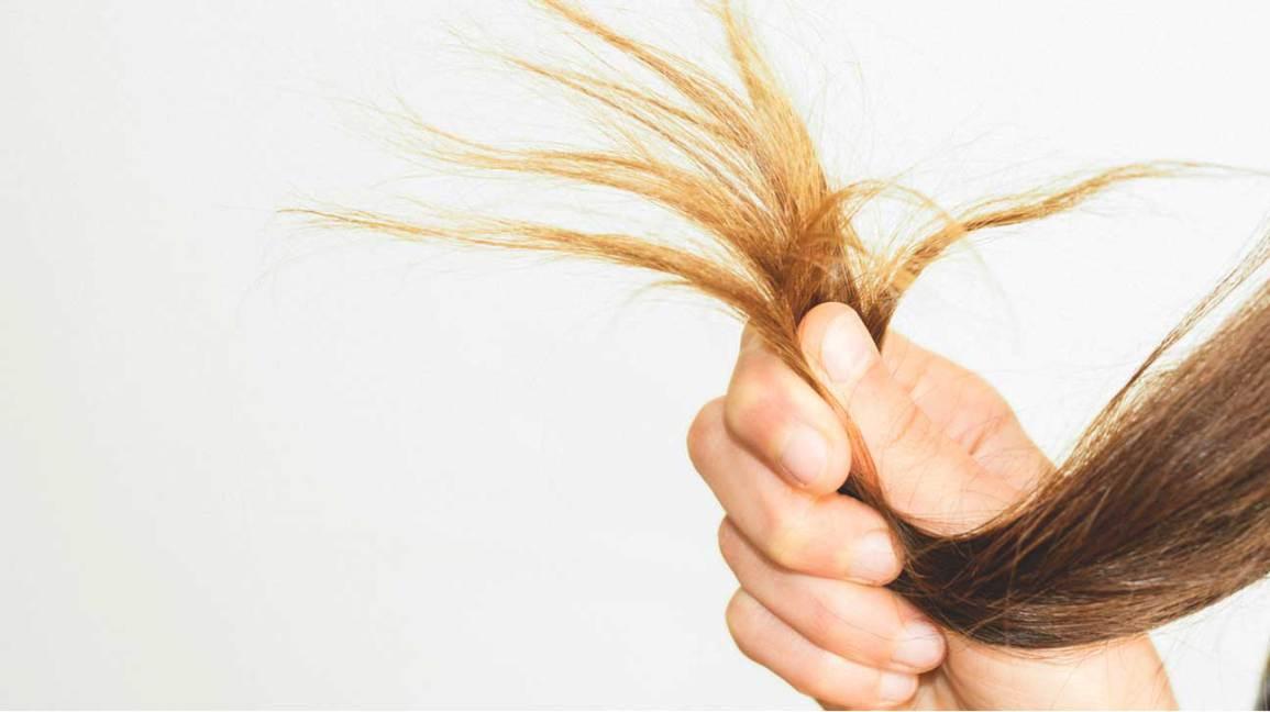 Main tenant les cheveux
