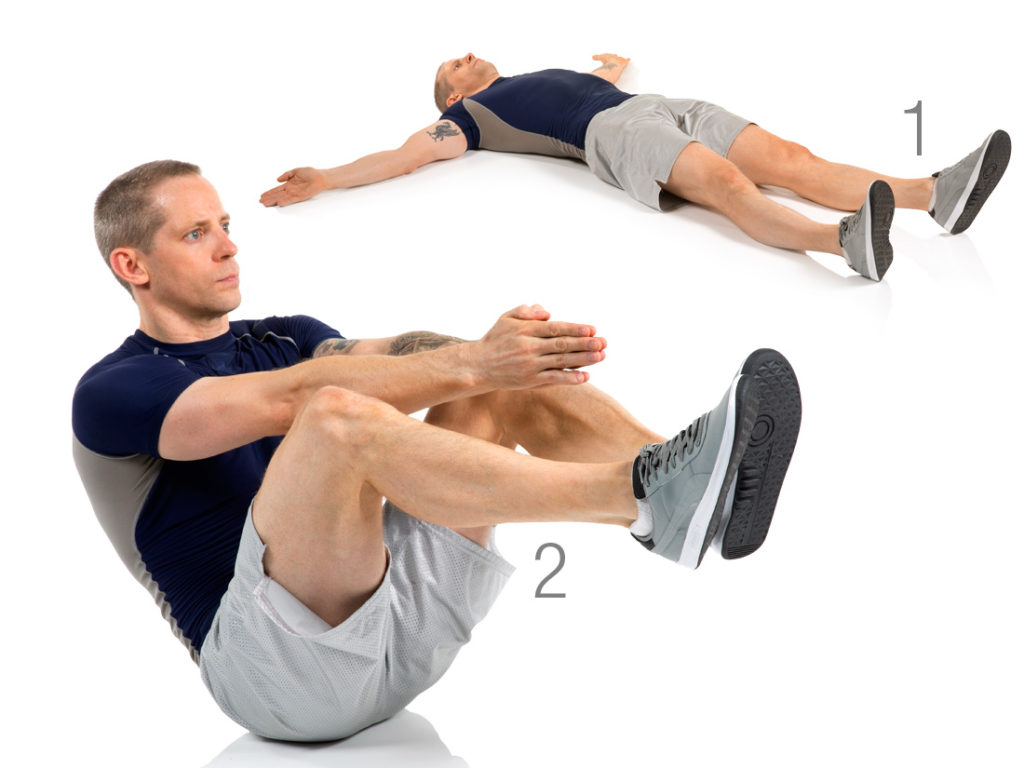 Grenouille Sit-up