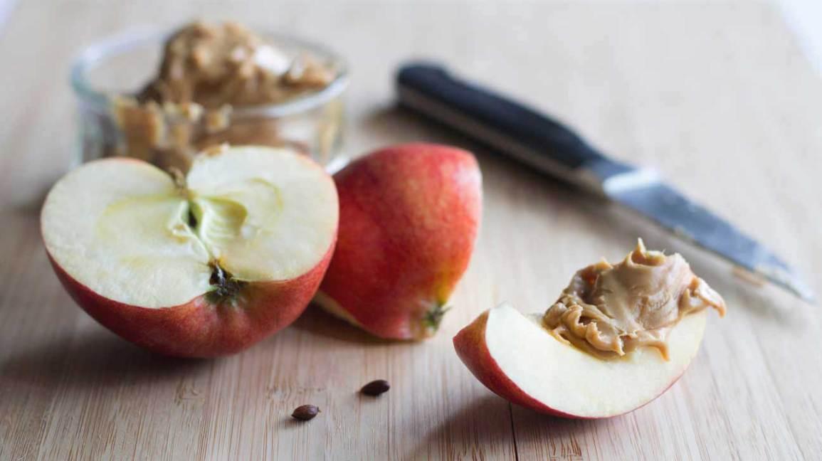 Beurre de pomme et d'arachide