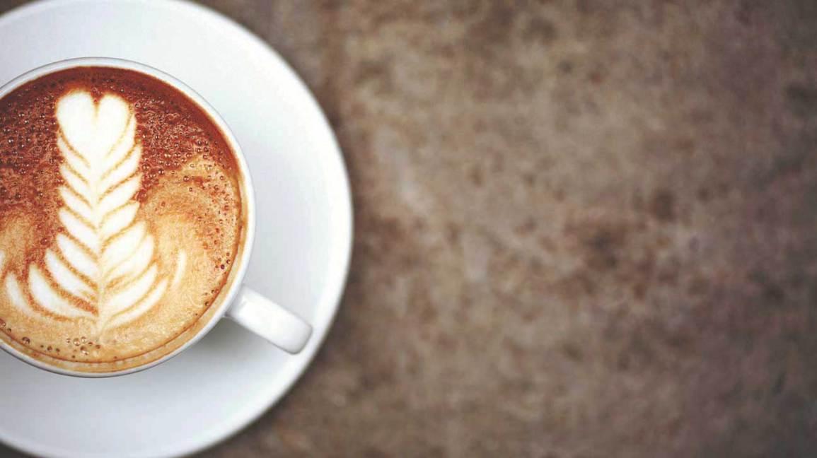 Cappuccino Gros Plan
