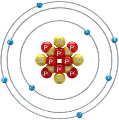 Diagramme d'atomes d'oxygène