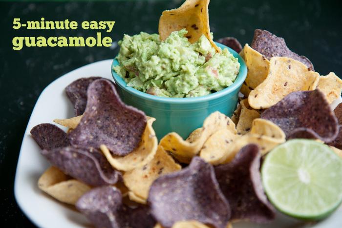Recette : guacamole facile en 5 minutes