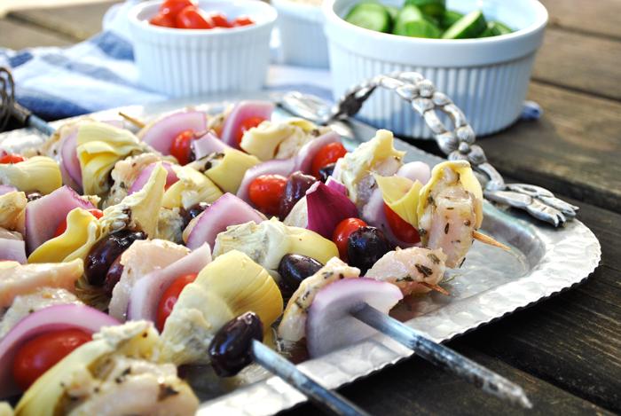 recette simple grecque-kabab