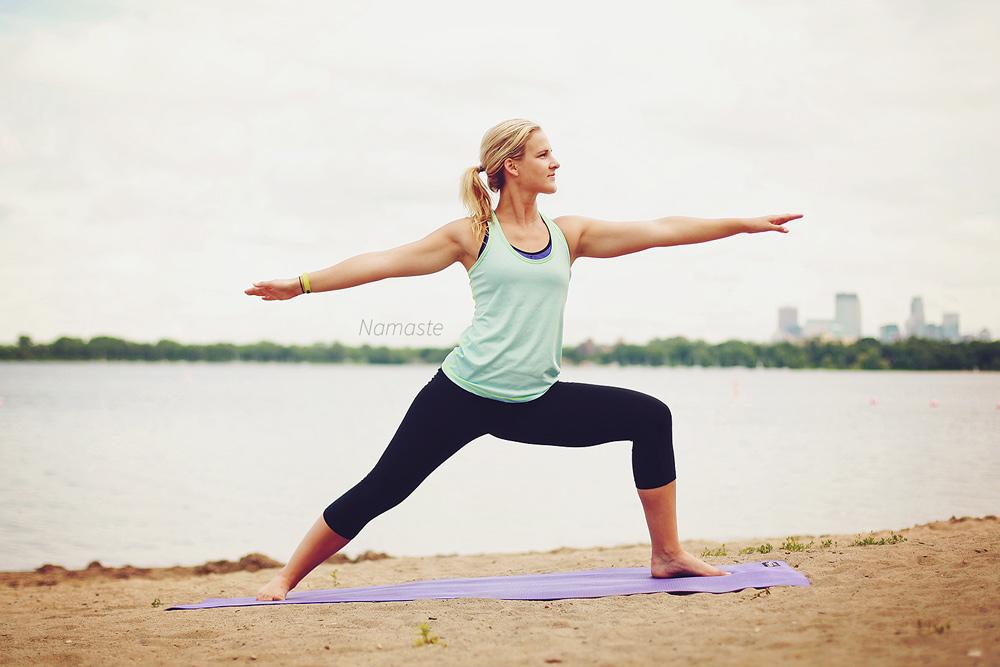 namaste yoga pour débutants