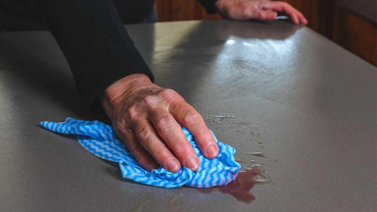 Vos serviettes de cuisine sont probablement pleines de bactéries