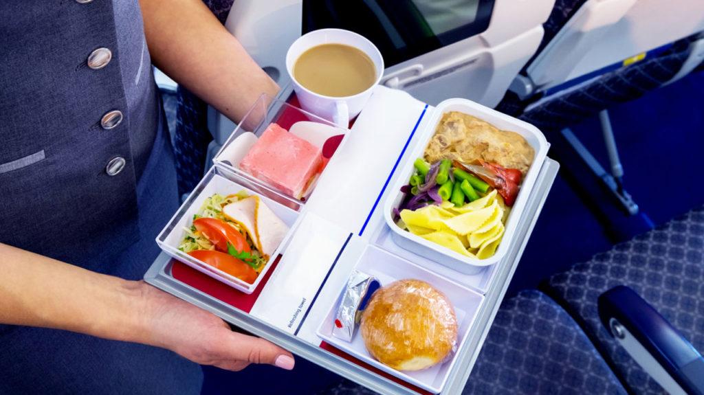 Airline Food peut être pire que vous ne le pensez
