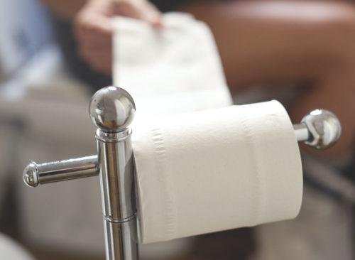 Grab papier toilette salle de bain - perte de poids malsaine