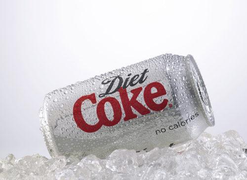 Coke diète sur glace - perte de poids malsaine