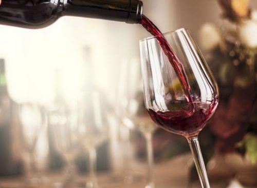 Vin rouge - perte de poids malsaine
