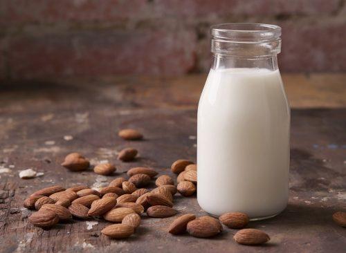 Le lait d'amande