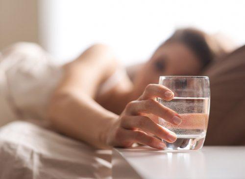 Réinitialiser le régime maintenant pour l'eau