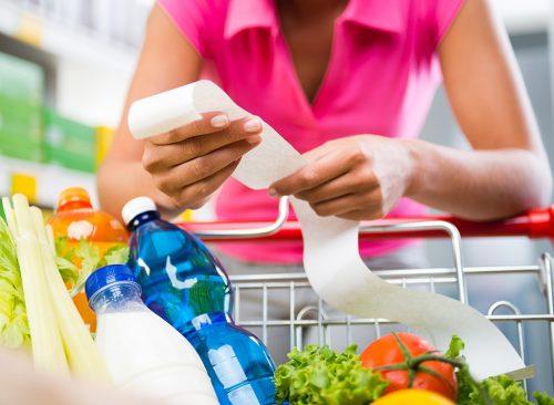 façons simples et peu coûteuses de perdre un reçu d'épicerie