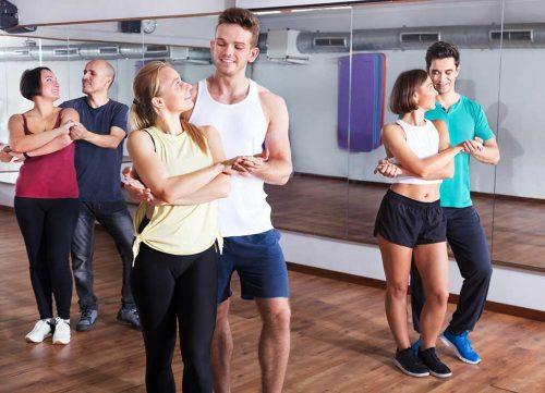 Couple de cours de danse