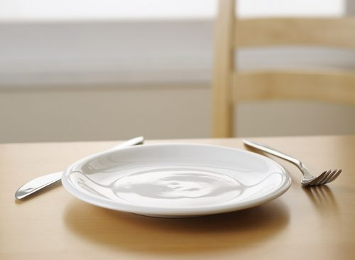 règle de la demi-assiette