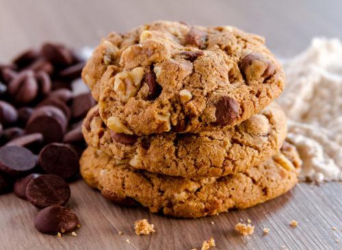 Cookies aux pépites de chocolat aux noix