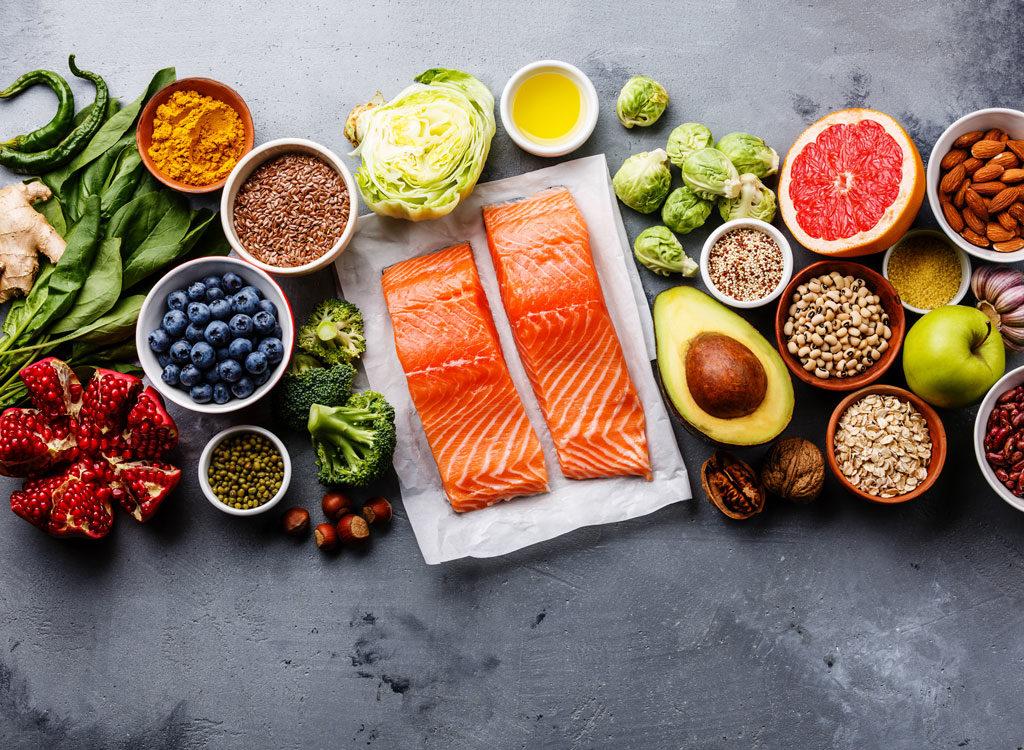 Les 40 meilleurs superaliments de perte de poids